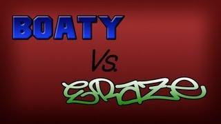 B0aty vs Eraze   Left Hand Hybriding !