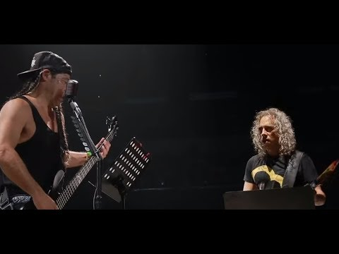 "Metallica's Trujillo and Kirk Hammett covered Garbage's ""Stupid Girl"" in WI"
