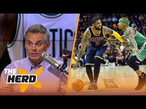 Kyrie Irving - Isaiah Thomas trade: Which team won? Colin Cowherd reacts  | THE HERD