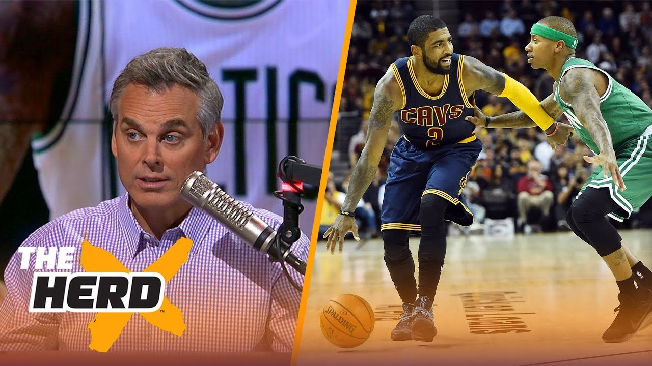 622e4c2b7f86 Kyrie Irving - Isaiah Thomas trade  Which team won  Colin Cowherd reacts