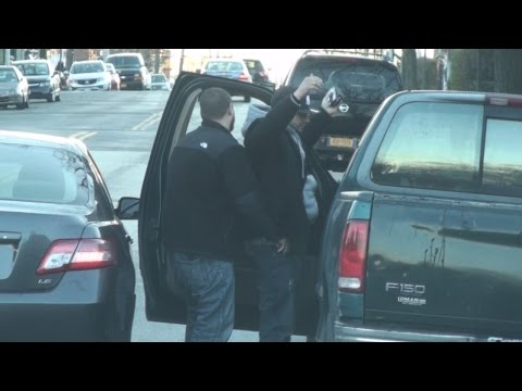 NYPD Cops BUSTED ... Another illegal Stop and Frisk !