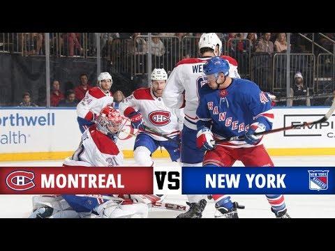 Montreal Canadiens vs New York Rangers | Season Game 3 | Highlights (8/10/17)