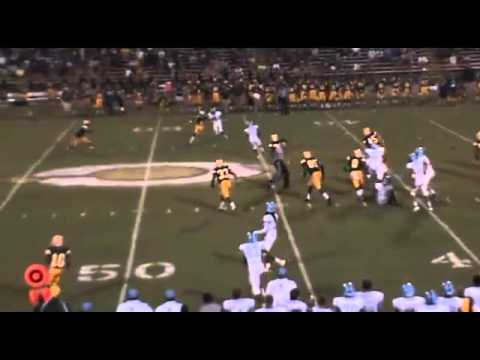 Gilbert Brooks 2012 Season Highlights, Burns High School Football