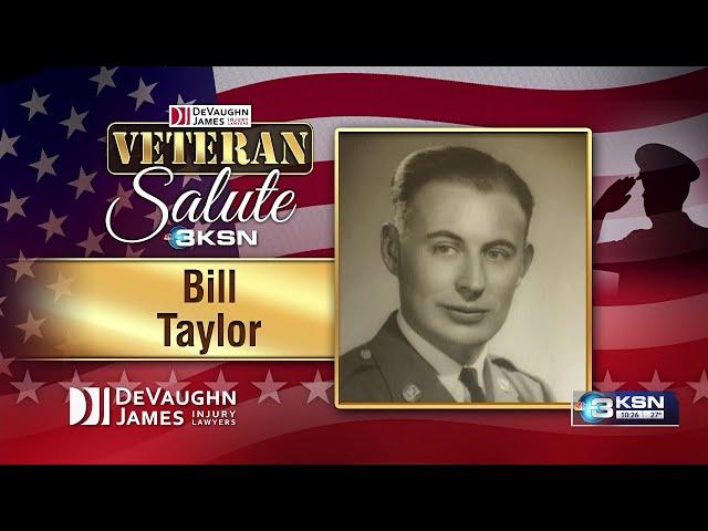 Veteran Salute: Bill Taylor