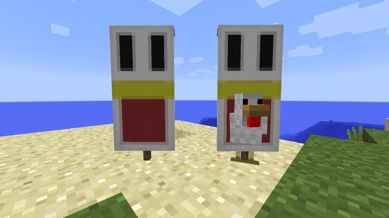Banni re poulet youtube - Poule minecraft ...