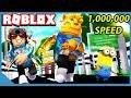 Becoming the Fastest in Roblox Speed City Simulator