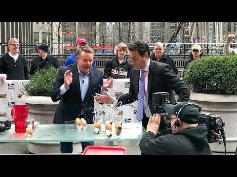 Egg Drop - Steve Spangler on FOX and Friends