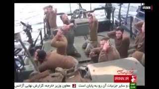 ten US Marines captured by Iran freed after apologized to iran