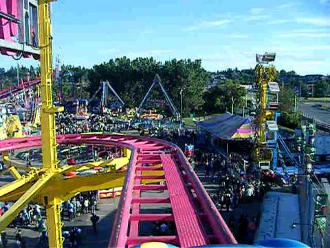 Calgary Stampede Crazy Mouse Ride Youtube