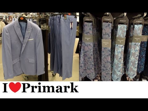 [VIDEO] - Primark Mens suits and smart casual wear     September 2019   I❤Primark 6