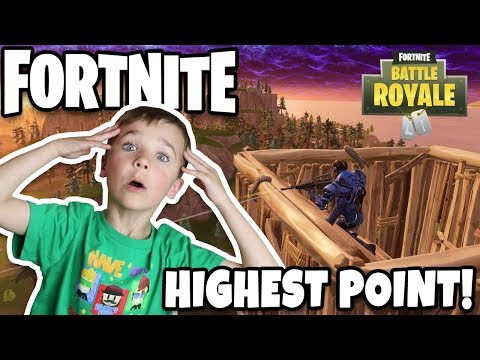 LAST ONE STANDING ON THE HILL WINS!!! FORTNITE BATTLE ROYALE