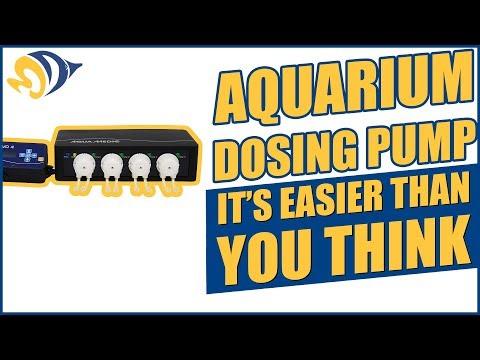 Setting Up an Aquarium Dosing Pump: It