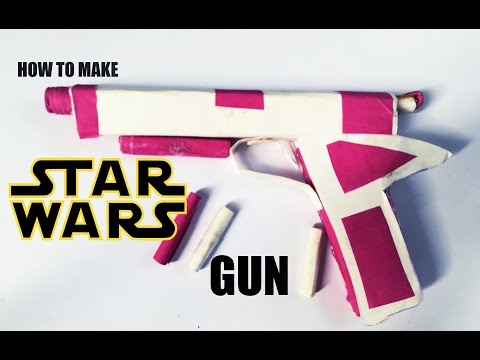 How To Make Star Wars: The Last Jedi guns with Paper