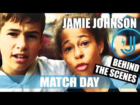 JAMIE JOHNSON BEHIND THE SCENES MATCH DAY