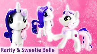 MLP Rarity Sweetie Belle Split Pony Custom Pony DIY Tutorial