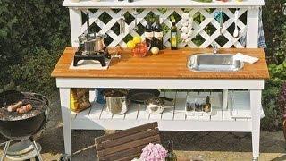 Outdoor küche selber bauen. Outdoor küche bauen.