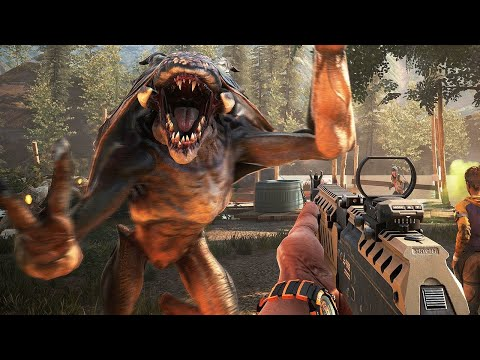 13 Minutes of Earthfall Gameplay (1080p 60FPS)