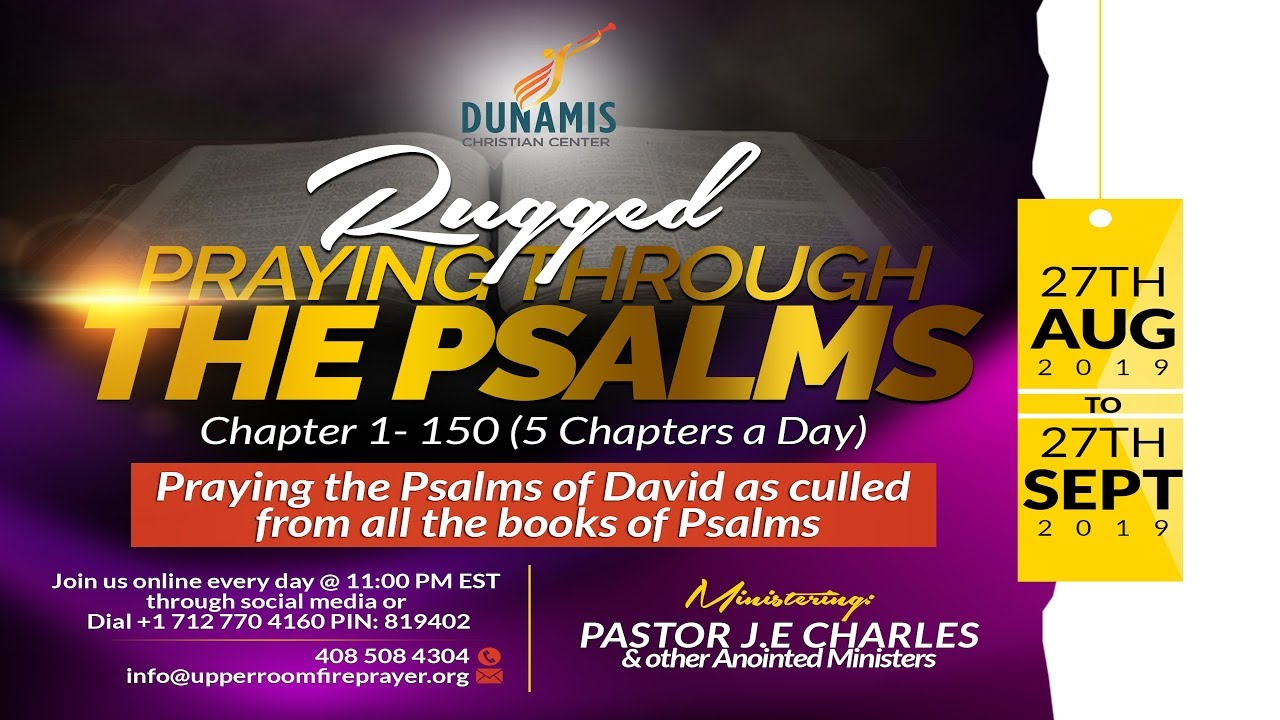 🔥Rugged Prayers: Day 12 of Praying through the Books of Psalms CH 56-60 🔥