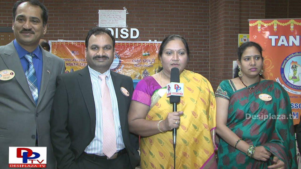 Krashnaveni Seelam,Vice President, TANTEX speaking to DPTV at Sankranthi Sambaralu 2016