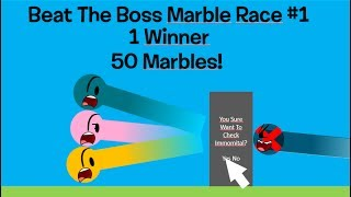 Beat The Boss Marble Race #1