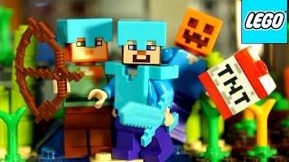 Лего Майнкрафт 2015 + Мультики. Коллекция. Обзор на русском языке. Lego Minecraft 2015