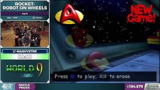 Rocket: Robot on Wheels by mashystrr in 58:48 - AGDQ 2017 - Part 34