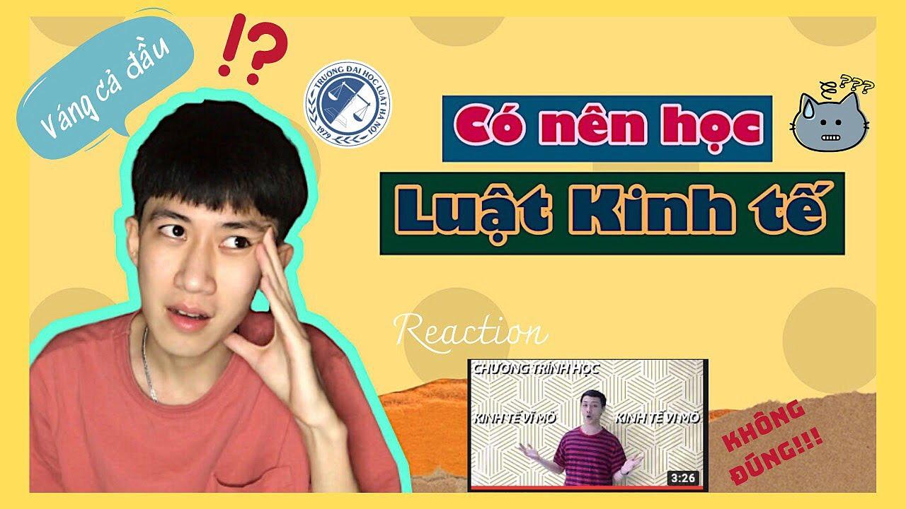 Có nên học LUẬT KINH TẾ không? |  #Vlog3