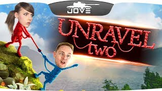 НАСТОЯЩИЙ ДРУГ ПОЗНАЕТСЯ В БЕДЕ ● Jove и Alina Rin в Unravel TWO
