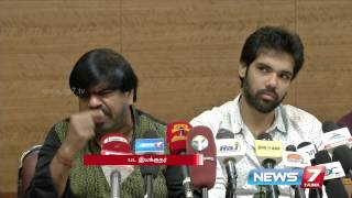 T Rajendharan speaks about STR's beep song controversy | News7 Tamil