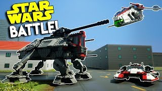 LEGO STAR WARS CITY BATTLE! - Brick Rigs Multiplayer Gameplay Challenge - Capture the Flag