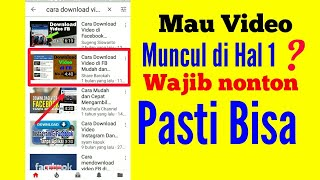 Video cara agar video mudah ditemukan di youtube | belajar seo youtube |  cara mudah di youtube, download MP3, 3GP, MP4, WEBM, AVI, FLV Juli 2018
