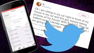 Investigating The Creepy @strayedaway Voicemail Tweet