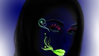 How to create Black light effect in Photoshop tutorial