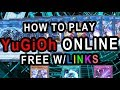 HOW TO PLAY YUGIOH ONLINE  2017 FOR FREE WITH LINK SUMMONS (YUGIOH PRO 2)