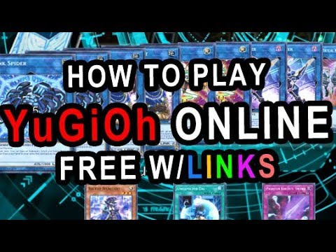 how to play yu gi oh online