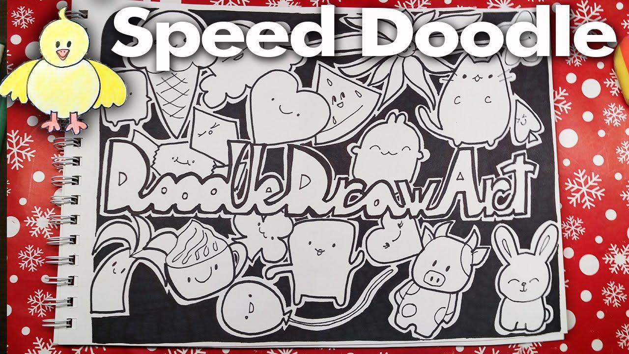 doodle coloring page cute doodledrawart monsters printable