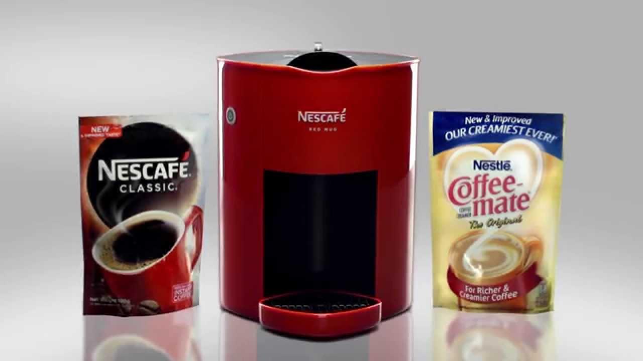 Nescafé Machine Red Mug The You Before Use SVMpzqU