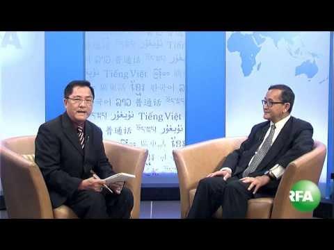 Phỏng vấn ông Sam Rainsy, Chủ tịch đảng Cứu nguy Dân tộc Campuchia