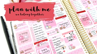 Plan With Me - We Belong Together
