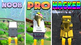 NOOB vs PRO vs HACKER – Crash Delivery! (iOS)