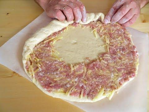 Заворачиваем фарш в тесто / Такой пирог угодит всем!