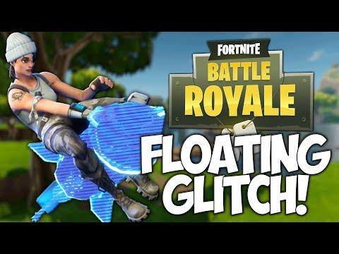 FLOATING GLITCH IN FORTNITE! WE BROKE THE GAME?!