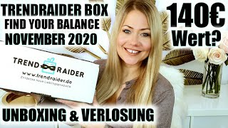 TRENDRAIDER BOX NOVEMBER 2020 | Unboxing & Verlosung