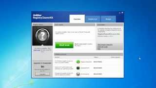 Uniblue - RegistryCleanerKit 2013 Scanning guide and features