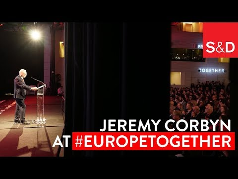 "Together in Brussels | ""The Neoliberal Economic Model is Broken"" Jeremy Corbyn"