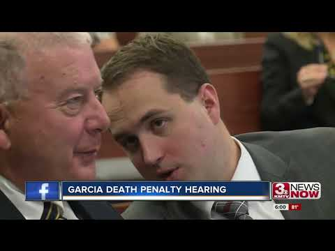 Convicted killer Anthony Garcia appears at sentencing hearing Wednesday
