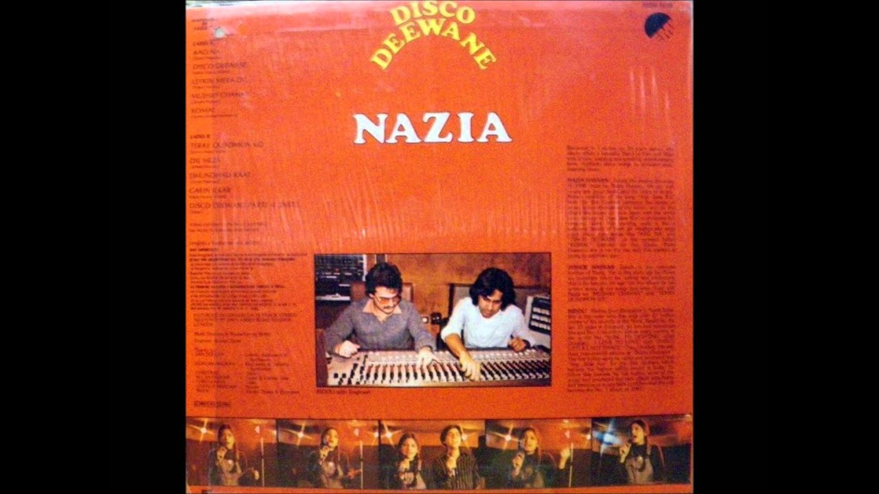Disco Deewane Song From Student Of The Year Nazia Hassan Disco Deewane 1980 Lp Original Version