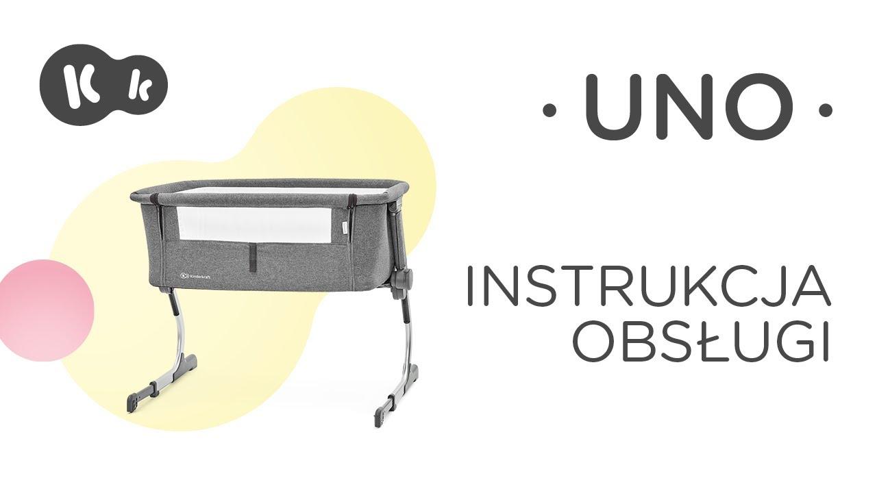 Kinderkraft Uno Instrukcja Obsługi łóżeczko Dostawne 2w1
