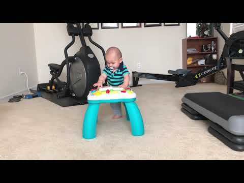 Baby Sammy's 1st Steps