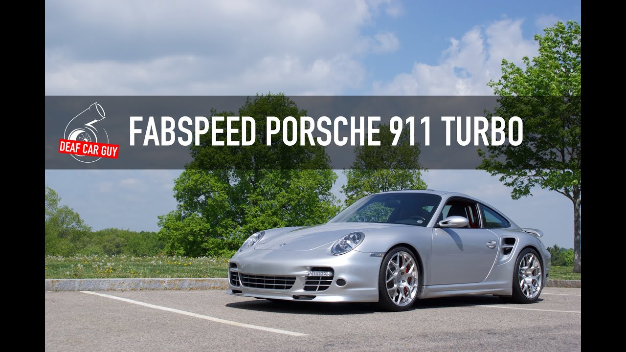 fabspeed porsche 911 turbo crazy acceleration youtube. Black Bedroom Furniture Sets. Home Design Ideas